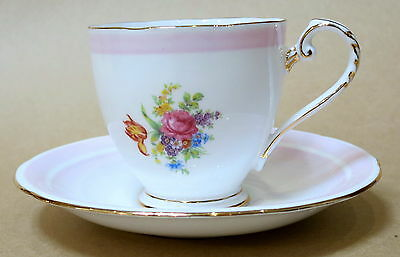 Beautiful Vintage Royal Grafton Demitasse Cup & Saucer 6834M