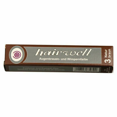 Hairwell Brown Eyelash and Eyebrow tint 20ml - 25% More than Refectocil