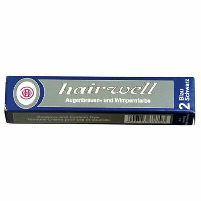 Hairwell Blue Black Eyelash and Eyebrow tint 20ml - 25% More than Refectocil
