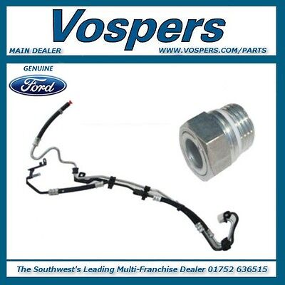 Genuine Ford Focus MK2 Power Steering Pipes & Union Nut Connector 2004-2011