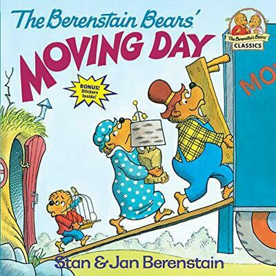 The Berenstain Bears' Moving Day by Stan Berenstain (English) Paperback Book Fre
