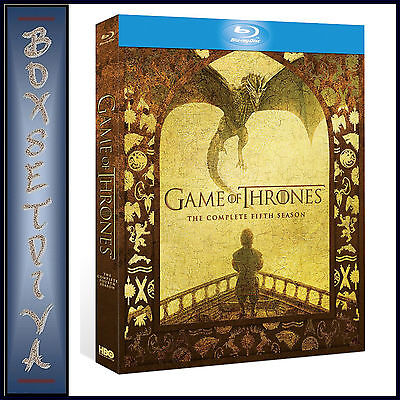 Game Of Thrones - Complete Season 5 *Brand New Bluray*