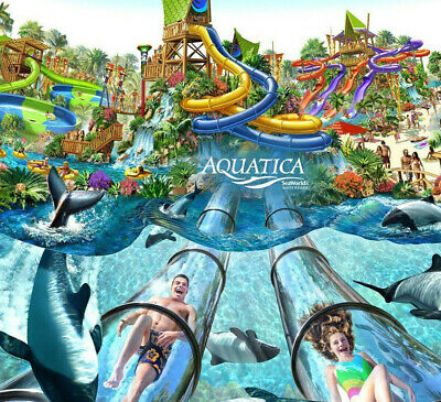 Aquatica Orlando Water Park Ticket $30    A Promo Savings Discount Tool