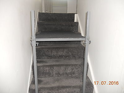 stair ladder platform stand leveller steel scaffold trestle decorator