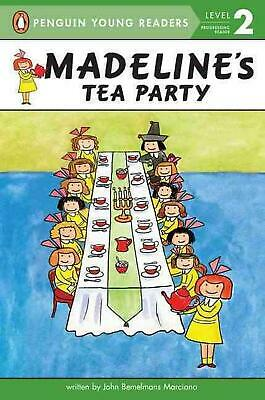 Madeline's Tea Party by John Bemelmans Marciano Paperback Book (English)