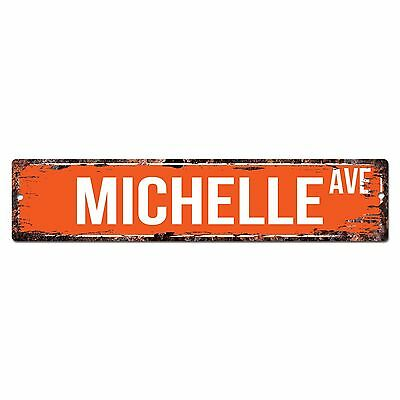 SWNA0067 KELLY AVE Street Chic Sign Home Store Shop Wall Decor Birthday Gift