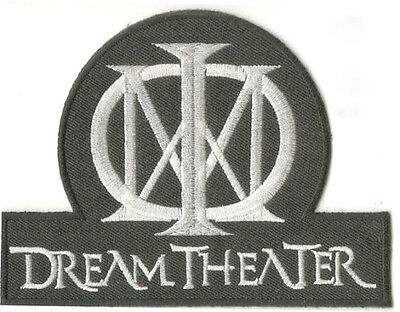 """Dream Theater Patch 5"""" Embroidered Iron on Badge Metal Rock Music Bag Jacket Hat"""