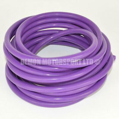 Purple Silicone Vacuum Hose Pipe - Vac Air Water (PICK CORE SIZE and LENGTH)