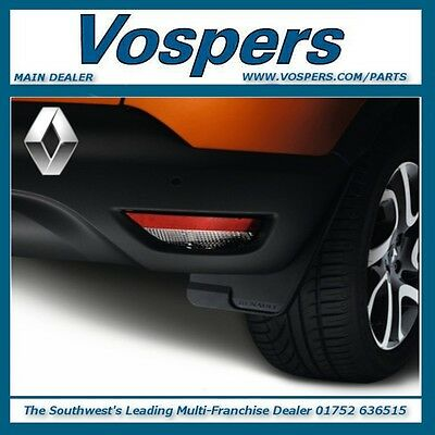 Genuine Renault Captur Set Of Front Or Rear Mud Flaps/guards. New