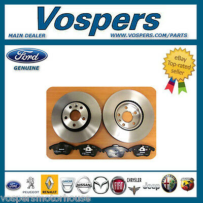Genuine Ford Mondeo MK4 Front Brake Discs And Pads 2007 - 2014