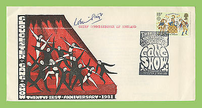 G.B. 1981 21st Anniv. of Gloucester Gang Show signed commemorative cover
