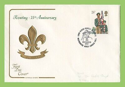G.B. 1982 26p Scouts on Cotswold First Day Cover, Westminister Abbey