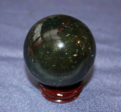 Bloodstone Crystal Sphere 3-4cm (approx.) - Free Postage