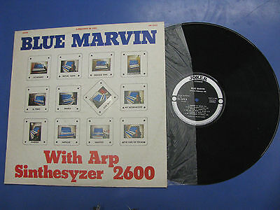 Blue Marvin ‎ With Arp Sinthesyzer 2600 Joker 1972 Italy SM 3433