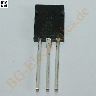 5 x BT134-600E Triac Sensitive Gate Philips TO-126 5pcs