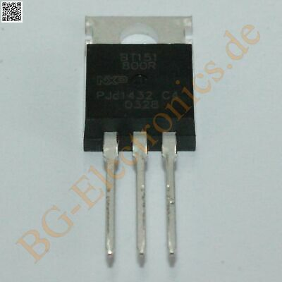 5 x BT151-800R Thyristor NXP TO-220 5pcs