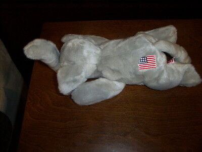 Retired Ty Beanie Buddy Rare Righty The Elephant Republican Party Mascot  Mint