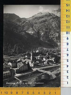 44044] Aosta - Gressoney St. Jean - Panorama _ 1956