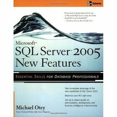 Microsoft(R) SQL Server 2005 New Features Otey Business applicati. 9780072227765