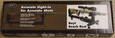 NEW Boyt 31123 Secure Shot Rifle Bench Rest Gun Maintenance Cleaning Sighting In