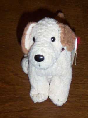 Retired Ty Beanie Baby Rufus The Dog Mint With Tags