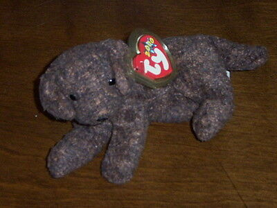 Retired Ty Beanie Baby Fetcher The Dog Mint With Tags