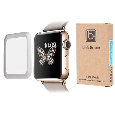 LINK DREAM Tempered Glass Screen Film for Apple Watch (38mm) 0.2mm 9H