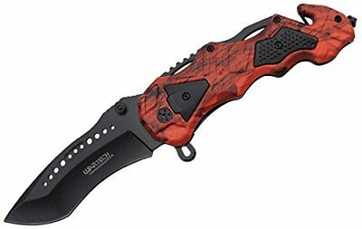 Tactical SWAT Police Spring Assisted Opening Rescue Folding Pocket Knife NIB OCM