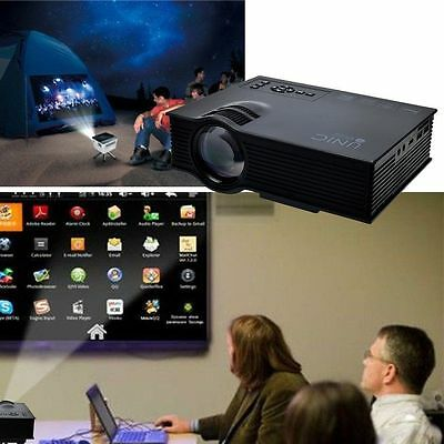 Home Theater Wifi HD 1080P LED Video Projector 3D Wifi  TV/USB/VGA Projector