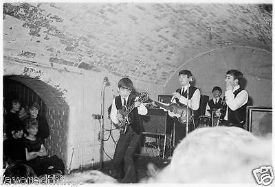 The Beatles At The Cavern 1962 8X10 Photo #54