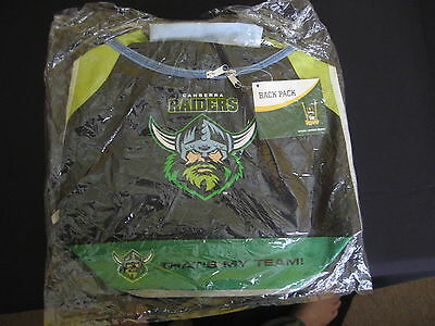 Canberra Raiders Nrl Backpack - New!