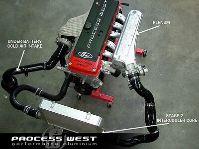PROCESS WEST Stage 2.4 INTERCOOLER PACKAGES FOR FORD BA / BF