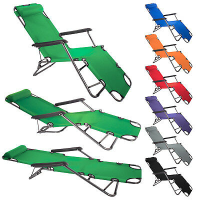 Original Smartfox Reclining Sunlounger Chair ADJUSTABLE 7 COLOS HIGH QUALITY ***