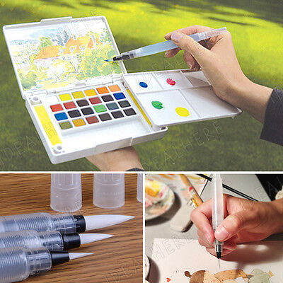 3 Size Soft Calligraphy Writing Drawing Painting Pen Water Brush Watercolor Pen