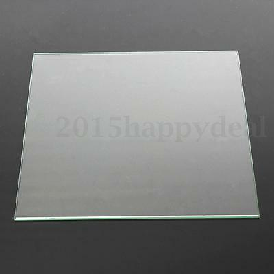 3D Printer Heating Bed Build Toughened Glass Plate FOR Reprap Plate 200 X 213mm
