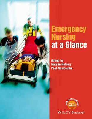 Emergency Nursing at a Glance by Paul Newcombe (English) Paperback Book Free Shi