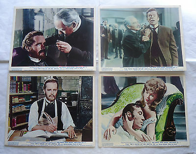 HAMMER/TWO FACES OF DR JEKYLL /british set 8 foh stills