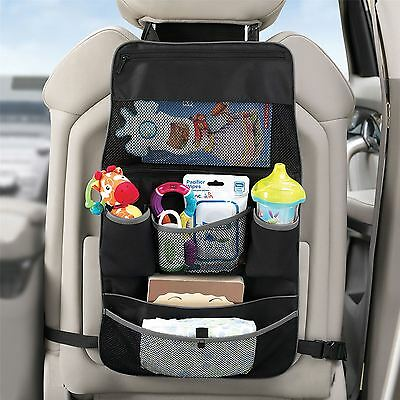 Lindam Child Backseat & Pushchair 2-in-1 Baby Travel Organiser Zip Close Storage