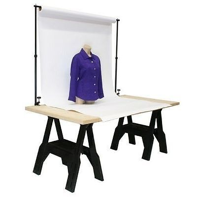 Tabletop Background Support System -Home Studio Product Photography DIY Backdrop