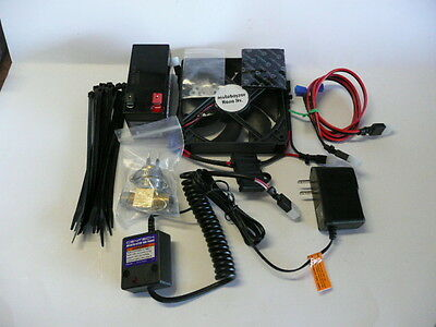 New Universal Motorcycle Dirt Bike Cooling Fan Kit CRF YZF KXF RMZ SX MX