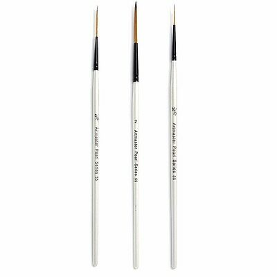 Artmaster Pearl Artist Watercolour Paint Brush - Rigger I 6 Sizes Available