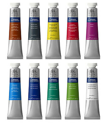 Winsor & Newton Cotman Watercolour Artist Paint 21ml - 40 Colours Available