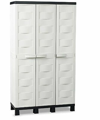 TOOMAX 173 x 97 x 37cm Ambition Line Small Storage Unit with 3 Doors/ 4 Adjust.