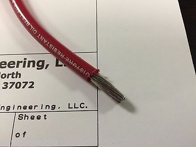 Marine Wire 4AWG 6AWG 8AWG Black and/or Red UL1283/1231 BC-5W2