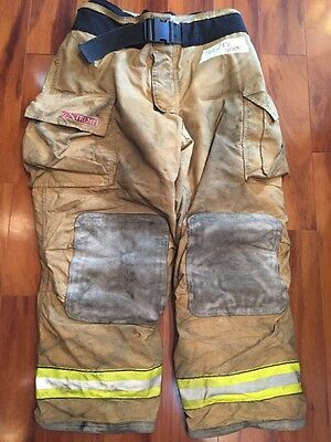 Firefighter Turnout Bunker Pants Globe 44x32 G Extreme Halloween Costume