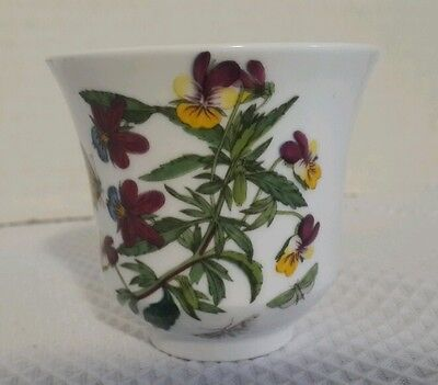 PORTMEIRION Botanic Garden votive Candle scented Flowers Butterfly UNUSED