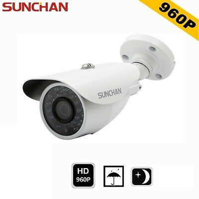 SUNCHAN 960P AHD 1.3MP IR Security CCTV Camera HD Waterproof Outdoor 3.6mm Night
