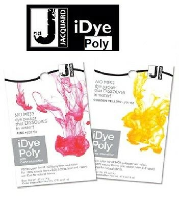 Jacquard iDye Poly - Synthetic Fabric Dye 14 Grams (16 Colours Available)