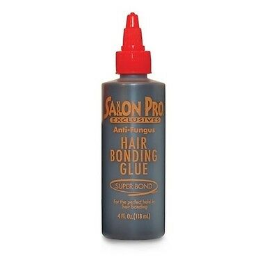Salon Pro Hair Extension Bonding Glue Black 4 Oz (118 ml)