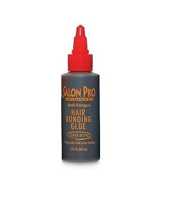Salon Pro Hair Extension Bonding Glue Black 2 Oz (60 ml)